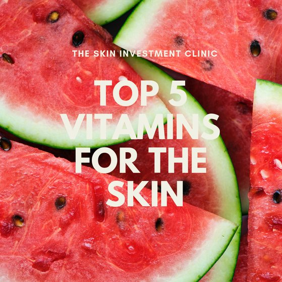 The Best 5 Vitamins For Your Skin
